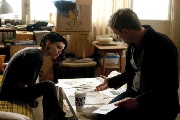 The Girl With The Dragon Tattoo Rooney Mara, Daniel Craig