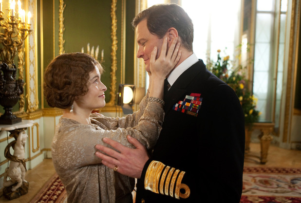 The King's Speech Colin Firth, Helena Bonham Carter