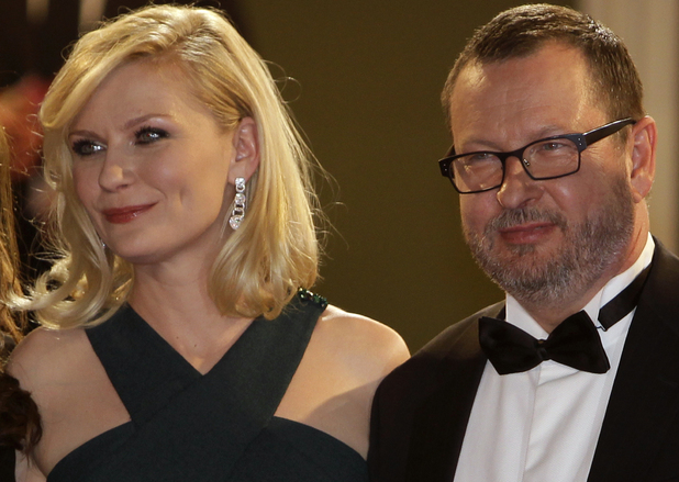 Kirsten Dunst and Lars Von Trier