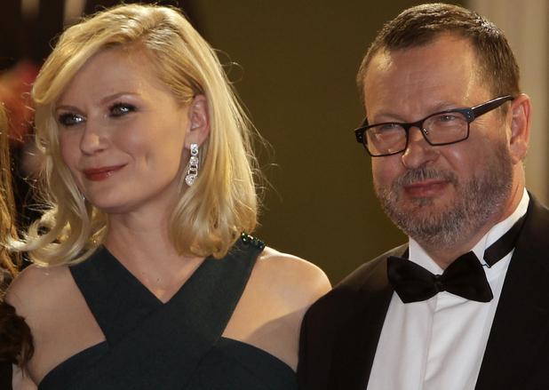 Kirsten Dunst and Lars Von Trier