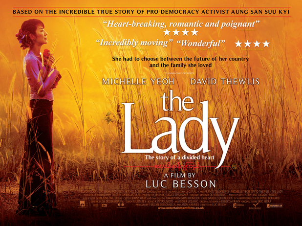 Poster from the 'The Lady'