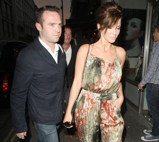 Sarah Harding and Tom Crane, at the No Tell Motel Southern Comfort Room launch at Mahiki. London