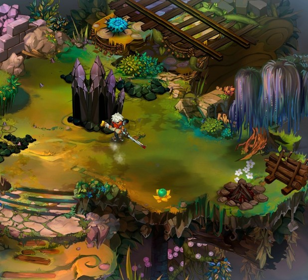 &#39;Bastion&#39; screenshot