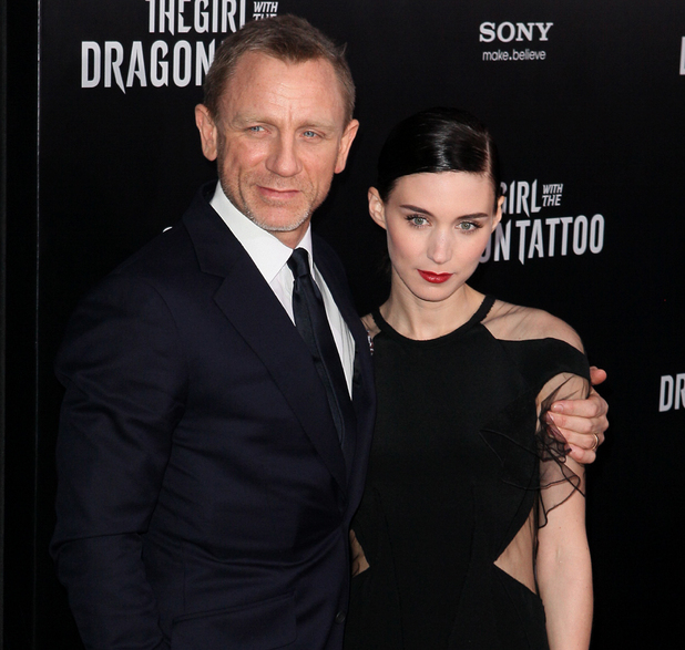 Daniel Craig and Rooney Mara New York premiere of 'The Girl With the Dragon Tattoo' held at the Ziegfeld Theater -