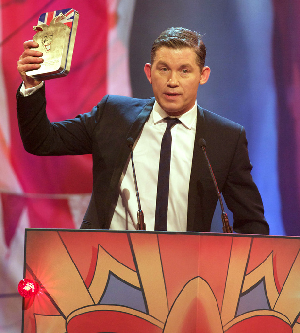 Lee Evans at The comedy Awards 2011