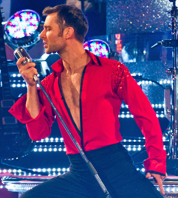 Harry Judd during the dress rehearsal for the Strictly final