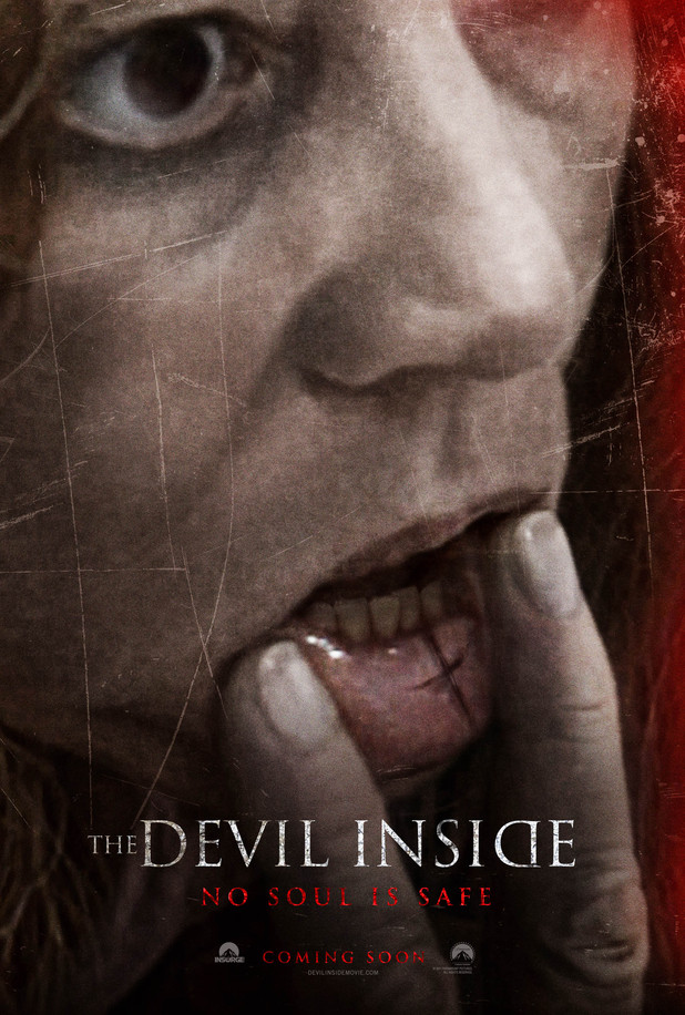 'The Devil Inside' poster