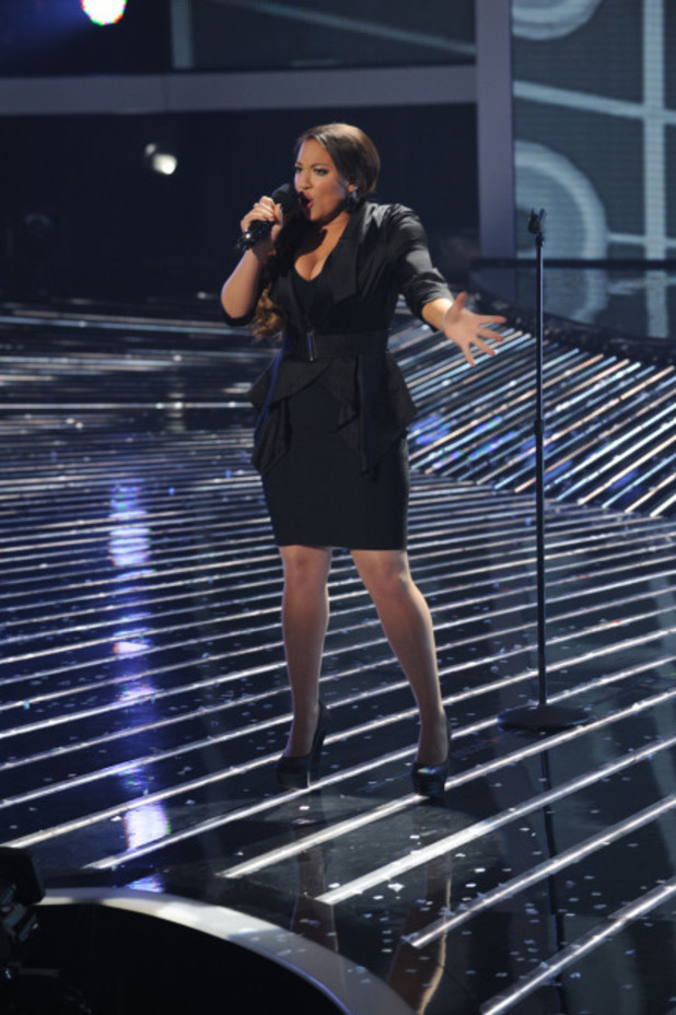 The X Factor USA Top 4 Performances: Melanie Amaro