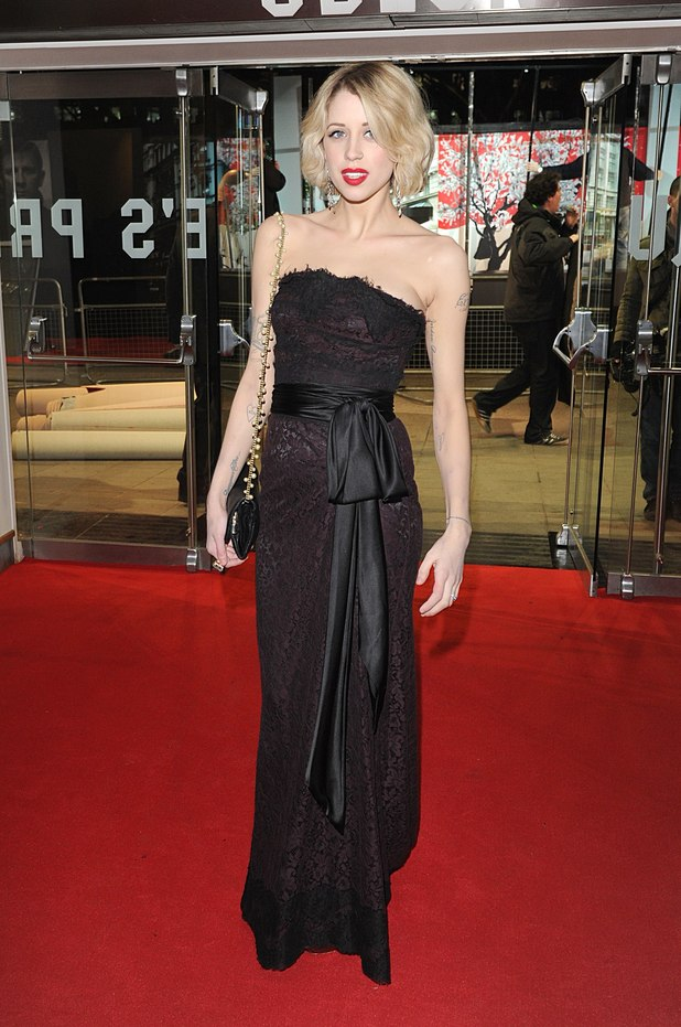 &#39;The Girl With The Dragon Tattoo&#39; London premiere: Peaches Geldof