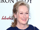 Meryl Streep at the New York premiere of 'The Iron Lady' at the Ziegfeld Theater. New York City