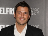 Mark Wright signs his calendar at Selfridges