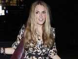 Brooke Mueller outside BOA steakhouse Los Angeles