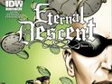 Joe Satriani is to appear in IDW Publishing's Eternal Descent series.
