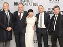 Daniel Craig and Rooney Mara premiere The Girl with the Dragon Tattoo in London.