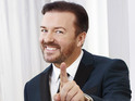 Ricky Gervais is beginning to prepare for the 2012 Golden Globe Awards.