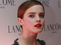 Emma Watson is named as fans' ideal Doctor Who companion in an online poll.