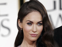 Megan Fox apparently takes offence to Steve Jones's line of questioning.