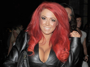&#39;Geordie Shore&#39; star Holly Hagan arriving at Aura nightclub.