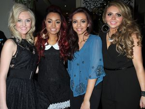 Little Mix attend a Glamour magazine dinner
