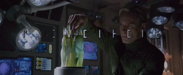 Michael Fassbender's blond-haired android David