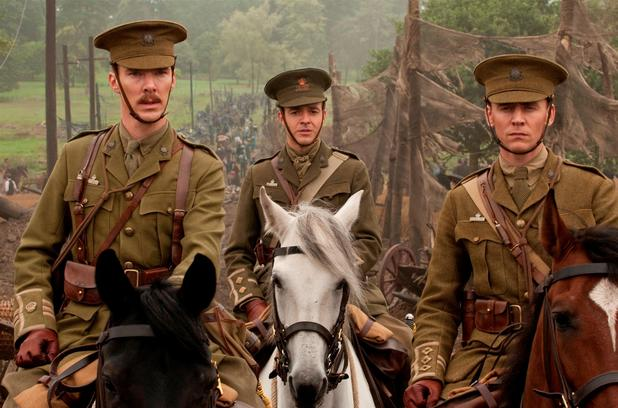 Major Jamie Stewart (Benedict Cumberbatch) and Captain Nicholls