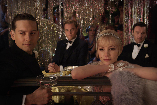 Leonardo DiCaprio, Tobey Maguire and Carey Mulligan The Great Gatsby