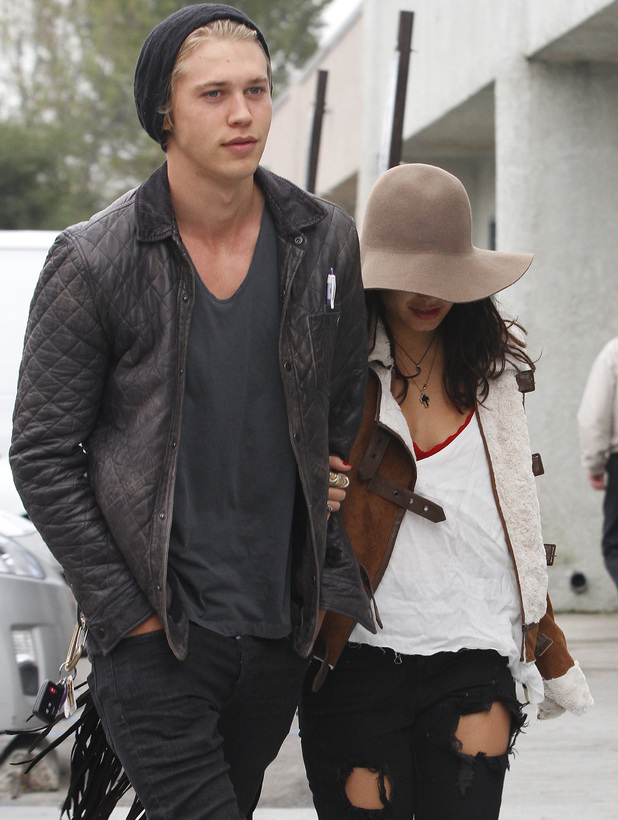 Vanessa Hudgens and boyfriend Austin Butler
