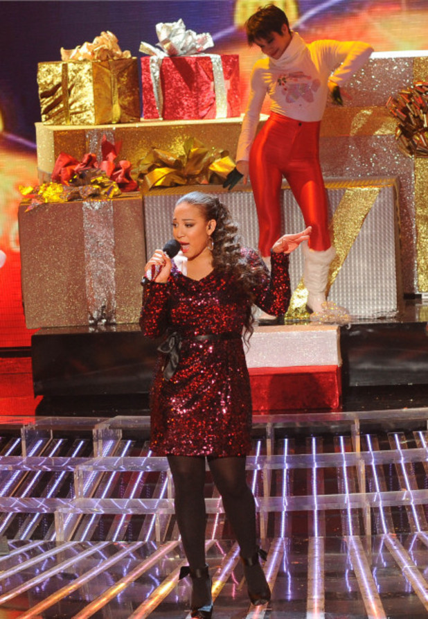 Melanie Amaro performs on The X Factor USA finale