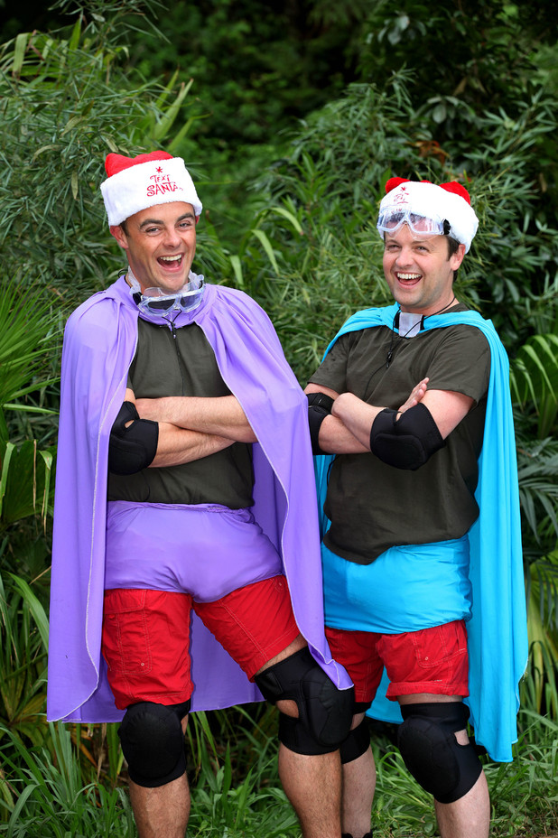 Ant and Dec take on the Cyclone Bushtucker trial for ITV's Text Santa charity appeal