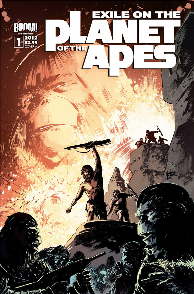 'Exile on the Planet of the Apes' #1 cover