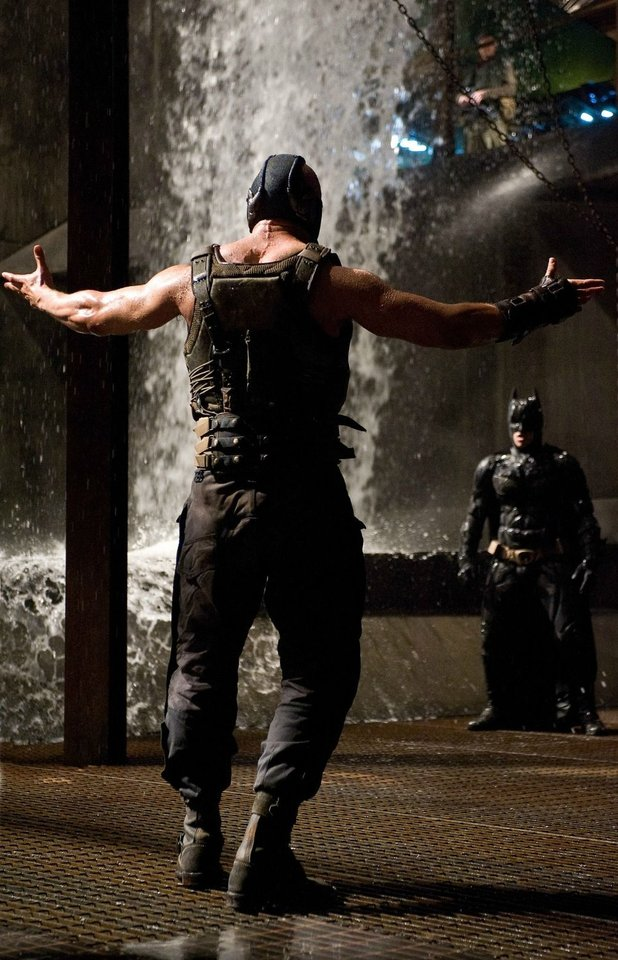 'The Dark Knight Rises' still