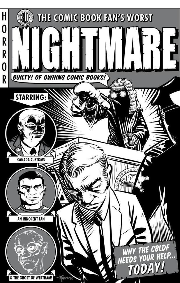 CBLDF's The Comic Book Fan's Worst NIGHTMARE! digital comic