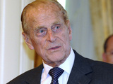 Britain's Prince Philip arrives at Government House in Canberra, Australia