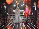 The judges arrive for The X Factor USA finale