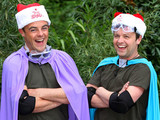 Ant and Dec take on the Cyclone Bushtucker trial for ITV&#39;s Text Santa charity appeal