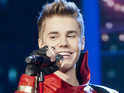 The 'Never Say Never' singer surpasses 16m followers on the social networking site.