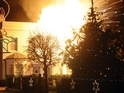 We take an in-pictures look at EastEnders' B&B explosion.