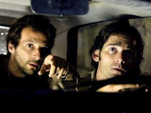 Mathieu Kassovitz and Eric Bana in 'Munich' (2005)