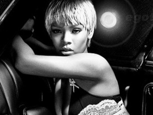 Rihanna in the Armani 2011 campaign