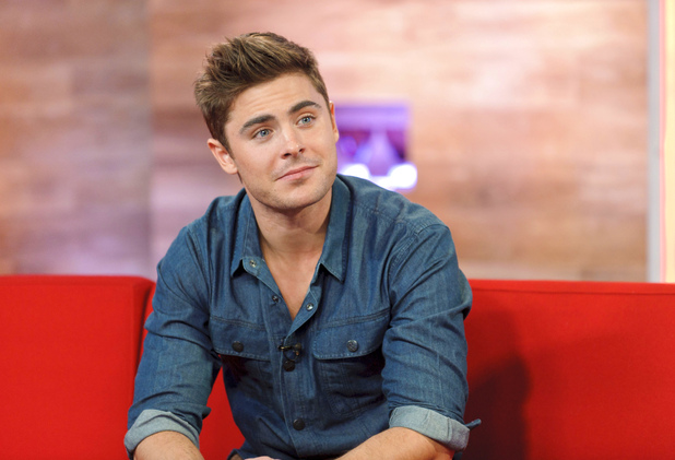 Zac Efron appears on Daybreak