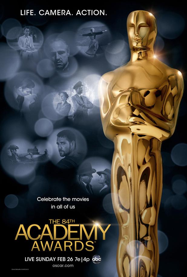 Oscars/Academy Awards 2012 poster