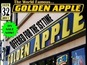 The world-famous Golden Apple comic store is offered for sale on eBay.