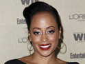 Essence Atkins reveals she gave birth on Christmas Day.