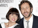 Chris O'Dowd and Dawn Porter announce their engagement via Twitter.