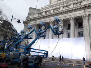 Skyfall on-set pictures