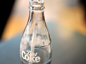 Bottle of Diet Coke