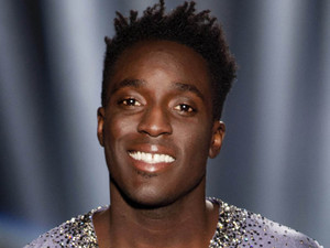 Former Blue Peter presenter Andy Akinwolere who will be dancing with partner Maria Flippov