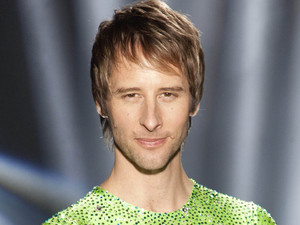 Singer Chesney Hawkes who will be skating with partner Jodeyne Higgins