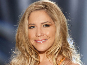 Sugababe Heidi Range who will be skating with partner Sylvain Longchambon