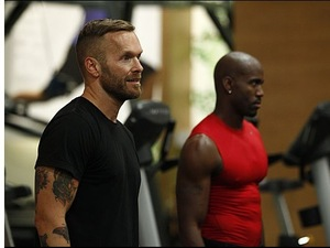 Bob and Dolvett together, Biggest Loser